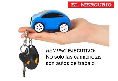 Renting Ejecutivo: No solo las camionetas son autos de trabajo - El Mercurio