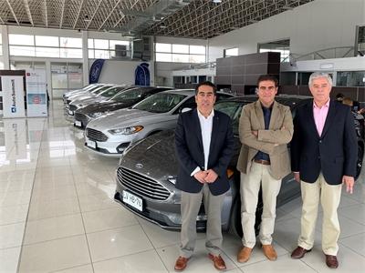 ALD Automotive Chile, entrega flota Híbrida a sus ejecutivos